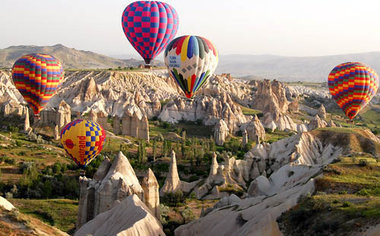 Wished: Voted: Exploring Goreme From The Land And Air