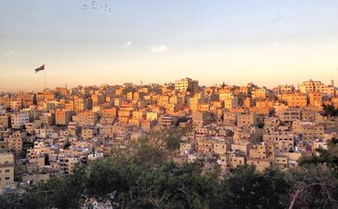Ancient Ruins And Art In Amman