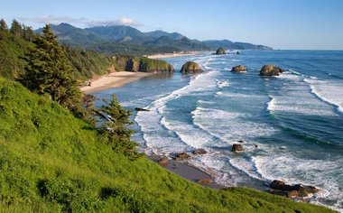 Perfect Romantic Day At Cannon Beach
