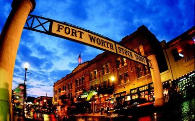 Andrew's Day In Fort Worth