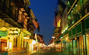 F The French Quarter