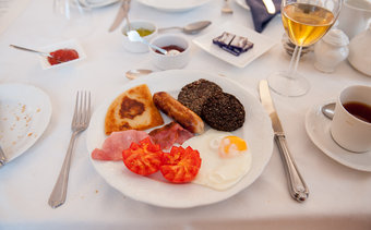 Breakfast at Kilmaurs Guest House