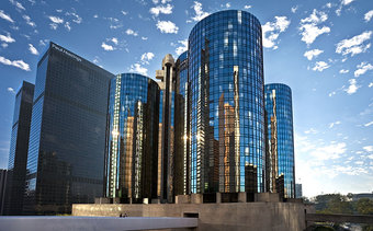 I would stay at: The Westin Bonaventure Hotel & Suites