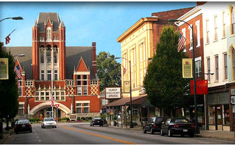 I would stay at: Bardstown, Kentucky