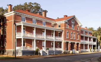 I would stay at: Inn at the Presidio