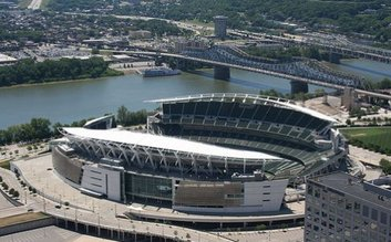 Paul Brown Stadium & the Great American Ballpark