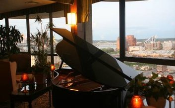 I would stay at: Radisson Hotel Cincinnati Riverfront
