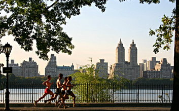 Central Park Running Path