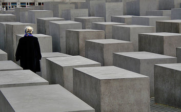 Wander around the Memorial to the Murdered Jews of Europe, which is both moving and artistic.