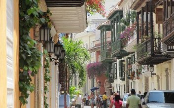 Walk the streets of Old Town Cartagena
