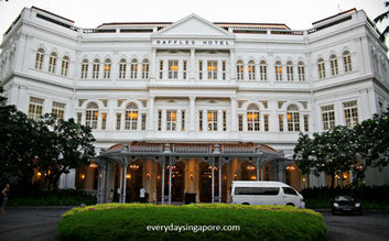 I would stay at: Raffles Hotel