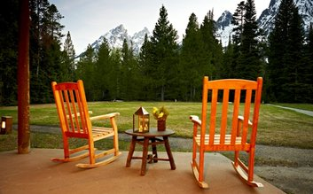 I would stay at: Jenny Lake Lodge