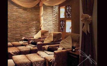 Take a midday break for a massage at Dragonfly Spa