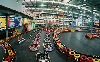 Disc Indoor Karting
