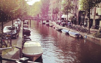 Canal ring Amsterdam Unesco World Heritage Site