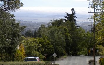 Walk down to Lytton Square, Mill Valley