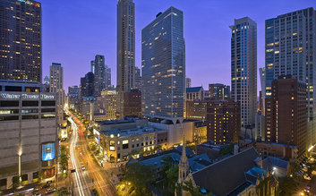 I would stay at: The Westin Michigan Avenue Chicago