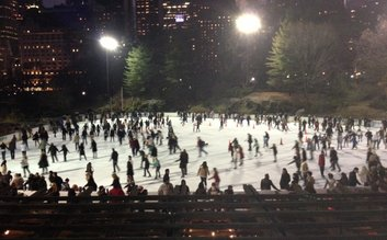 Wollman Ice Skating Rink