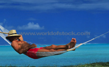 take a nap in a hammock by the ocean