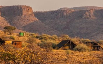 I would stay at: Etendeka Mountain Camp