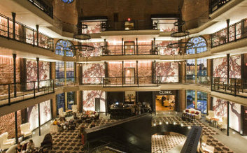 I would stay at: The Liberty Hotel, Boston