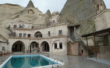 Stay at Local Cave House Hotel