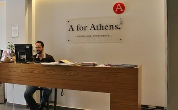 I would stay at: A for Athens (Rooms and Appartments)