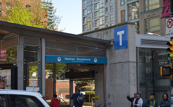 Yaletown - Roundhouse SkyTrain Station