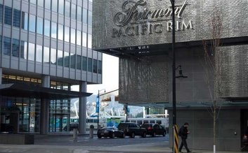 I would stay at: The Fairmont Pacific Rim