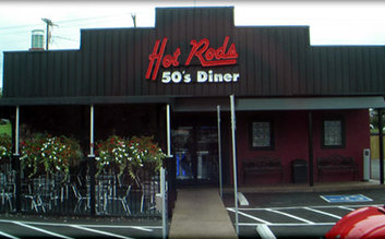 Breakfast at Hot Rods 50's diner
