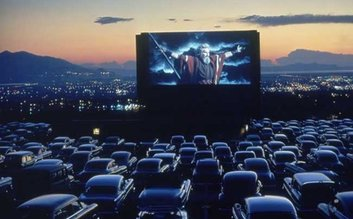 An Old drive in Movie