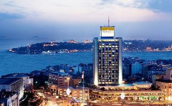 I would stay at: The Marmara Taksim Hotel
