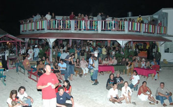 Bourbon Beach Bar, Negril (dance + drink)