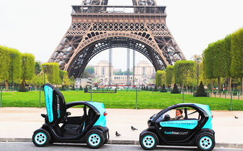 GPS Audio-Guided Electric Car Tours