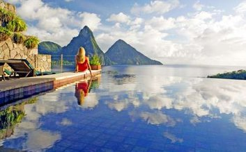Wake up at Jade Mountain