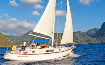 Half day of sailing at Anse Chastanet