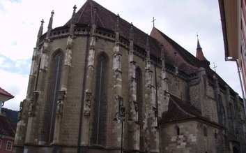 Black church Brasov