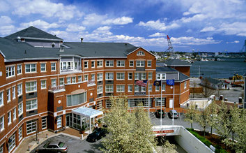 I would stay at: Sheraton Portsmouth Harborside Hotel