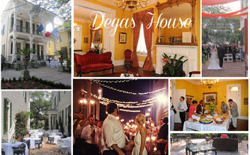 "New Orleans-Degas House; Only Museum/Home in World Open-Degas ""New Orleans Collections"""