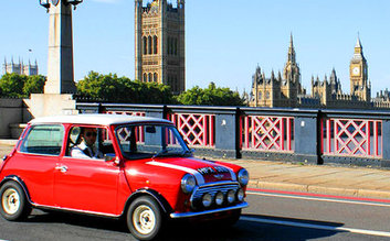 London to Paris Mini Cooper Tour