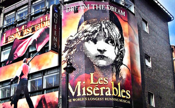 Les Miserables and Dinner Packages