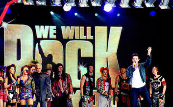 We Will Rock You and Dinner Packages